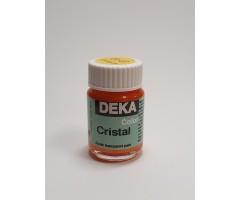 Klaasivärv Cristal (läikiv, läbipaistev), 25 ml - 7 kuldkollane - Deka
