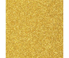 Vahtkumm sädelusega 20x30 cm, 1 leht - kuldne