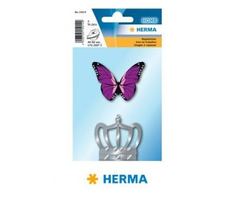Triigitavad aplikatsioonid Herma - liblikas ja kroon