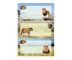 Vihikuetiketid Herma Vario - lõvid (sädelusega)