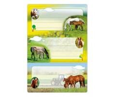Vihikuetiketid Herma Vario - hobused (sädelusega)