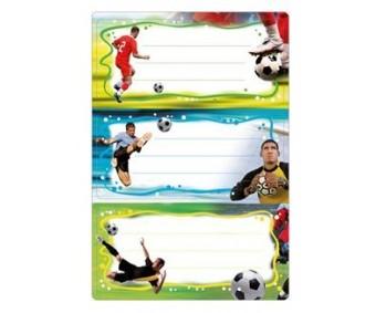 Vihikuetiketid Herma Vario - jalgpall (sädelusega)