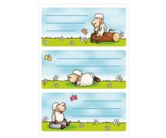 Vihikuetiketid Herma Vario - lambad