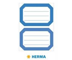 Vihikuetiketid Herma Vario - sinine raam