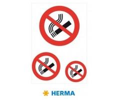 Hoiatavad kleebised Herma - suitsetamine keelatud