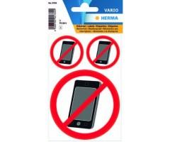 Hoiatavad kleebised Herma - mobiilikeeld