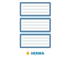 Vihikuetiketid Herma Vario - sinise raamiga