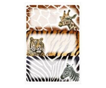 Vihikuetiketid Herma Vario - Aafrika loomad