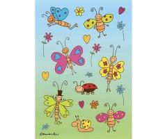 Kleepsud Decor - rõõmsad liblikad