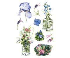 Kleepsud Decor - akvarell-lilled