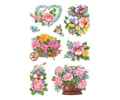 Kleepsud Decor - nostalgilised lilled