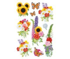 Kleepsud Decor - suvised lilled