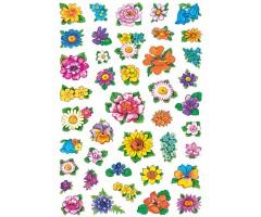 Kleepsud Decor - väikesed lilled