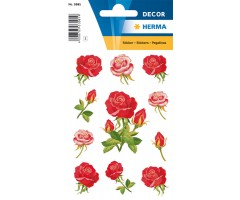 Kleepsud Decor - suured roosid