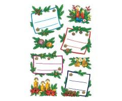 Kleepsud Decor - etiketid jõulupakile