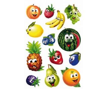 Kleepsud Magic - puuviljad (liikuvate silmadega)