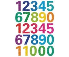 Kleepsud Magic - sädelevad numbrid