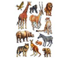 Kleepsud Magic - Aafrika loomad (helkivad)