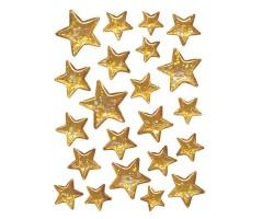 Kleepsud Magic - ruumilised kuldsed tähed