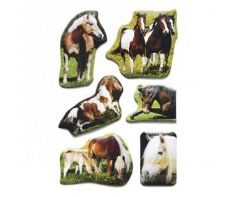 Kleepsud Magic - ruumilised hobused