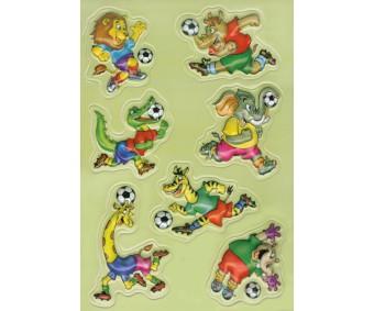 Kleepsud Magic - loomade jalgpall