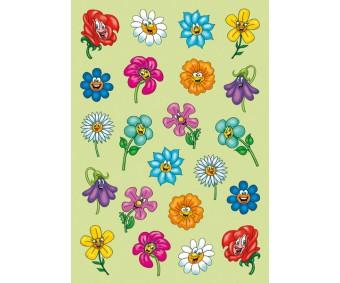 Kleepsud Magic - nägudega lilled