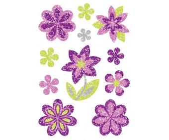 Kleepsud Magic - lillad lilled