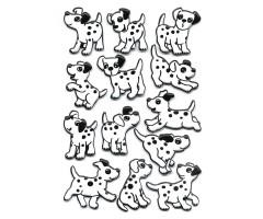 Kleepsud Magic - Dalmaatsia koerad (pehme 3D)