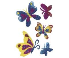 Kleepsud Magic - sätendavad liblikad