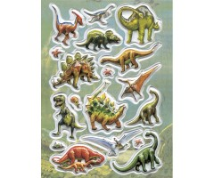 Kleepsud Magic - ruumilised dinosaurused