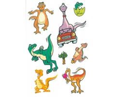 Ajutised tätoveeringud Tattoo - dinosaurused