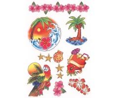 Ajutised tätoveeringud Tattoo - Havai