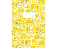 Töövihikukaaned Herma Social Icons A4 - kollane