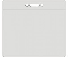 Nimesilditasku PVC 55x90mm, horisontaalne