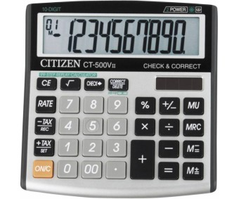 Lauakalkulaator Citizen CT-500VII