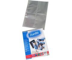 Fototaskud Bantex A4-l, köidetavad, 10x15cm fotole, 10 lehte pakis