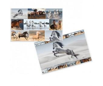 Lauamatt Herma 35x55cm - hobused