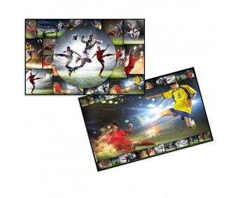 Lauamatt 35x55cm - jalgpall - Herma