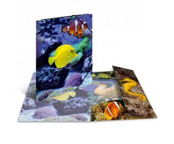 Plastikust mapp Herma A3, läikiv - kala