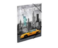 Plastikust mapp Herma A3 - New York