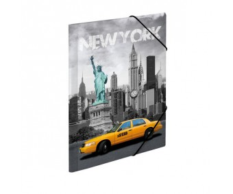 Plastikust mapp Herma A4 - New York