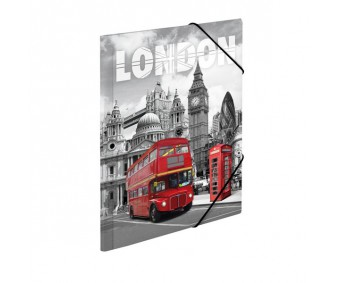 Plastikust mapp Herma A3 - London