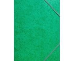 Kartongist mapp A4, nurgakummiga - roheline