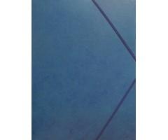 Kartongist mapp A4, nurgakummiga - sinine