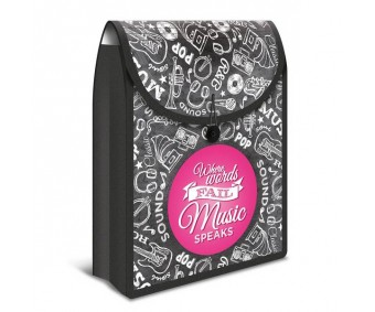 Mapp/kott Herma Flexi Bag - must/roosa