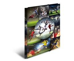 Plastikust mapp Herma A3 - jalgpall