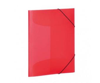 Plastikust mapp Herma A3, värviline - punane