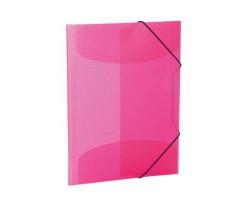 Plastikust mapp Herma A4, värviline - roosa