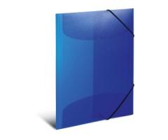 Plastikust mapp Herma A4, värviline - sinine