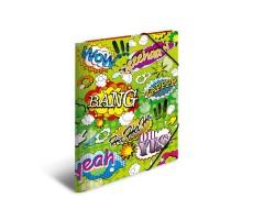 Plastikust mapp Herma A3 - koomiks